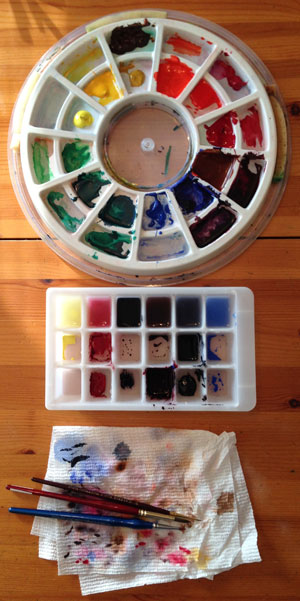 Ice Cube Tray Palette 2