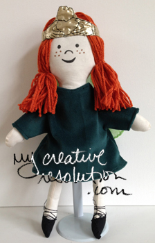 claddagh fairy doll 2