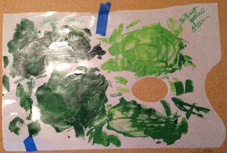 palette sheet