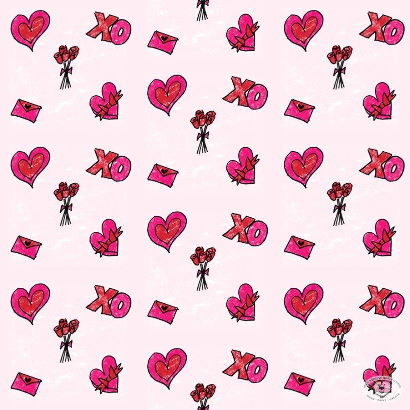 valentine'sdaypattern
