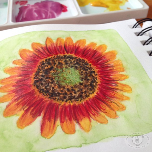 finalsunflowersketchbook