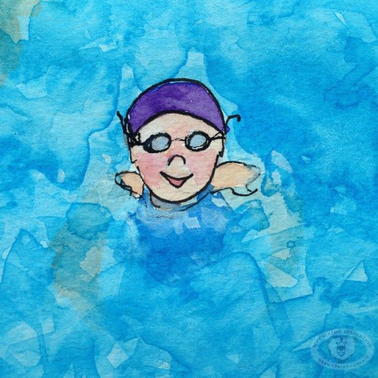 purplecapswimmer