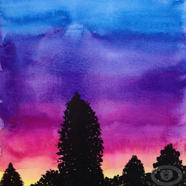 watercolorsunset