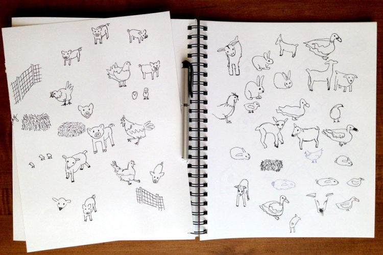 pettingzoosketches