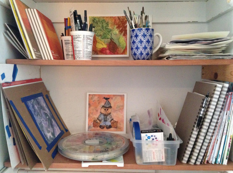 My Art Supply Closet