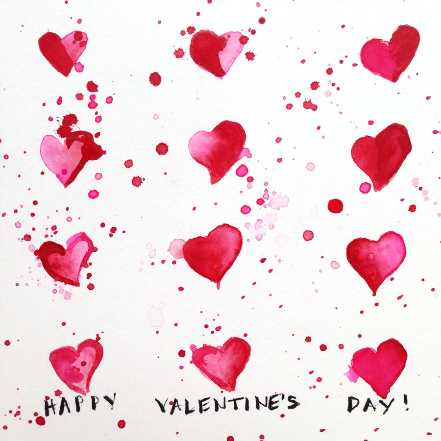 Schön Last Year I Got Into The Spirit Of Valentineu0027s Day And Created Art Every Day,  For 14 Days, Within That Theme. I Posted My Creations On Instagram.