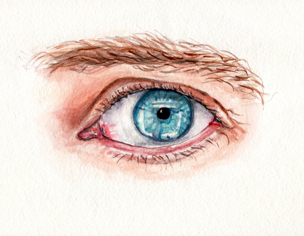 day-25-my-favorite-body-part-blue-eye-macro-watercolor
