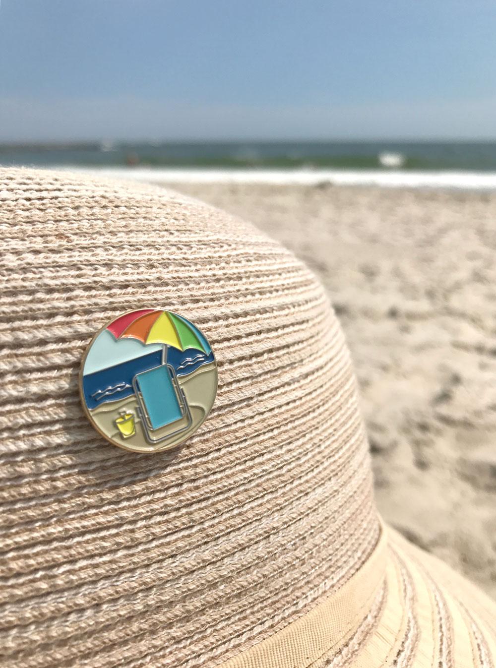 Beach Pin - 1