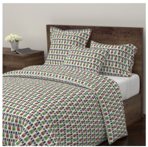 Nutcracker duvet cover