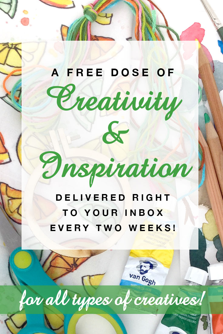 My Creative Collection is a creatively inspiring newsletter for all types of makers! Sign up at https://mycreativeresolution.com/newsletter/