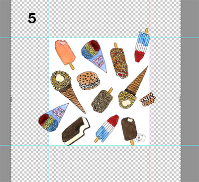 How to create a repeating pattern in Photoshop