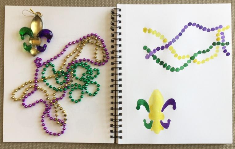 New Orleans sketchbook watercolor