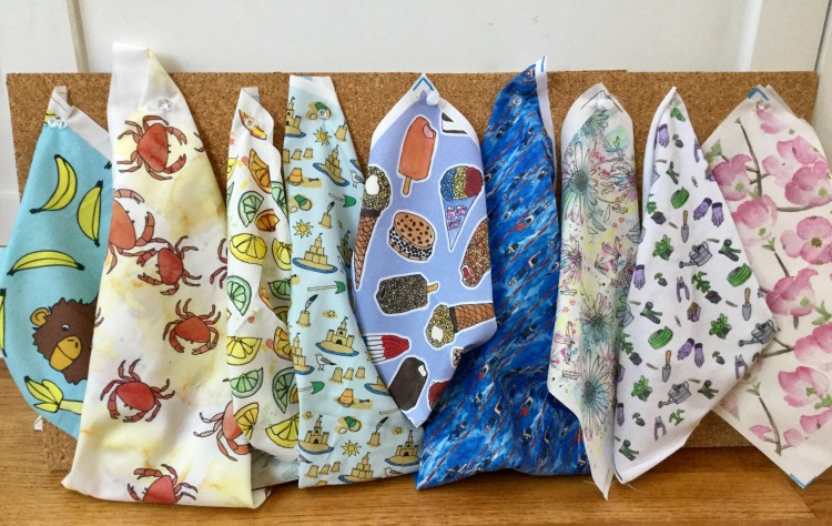 Fabric designs by Eileen McKenna. Available for purchase at https://www.spoonflower.com/profiles/eileenmckenna