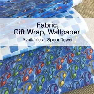 Fabric designs by Eileen McKenna available on Spoonflower