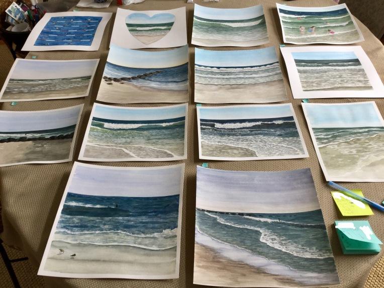 Choosing paintings for art prints