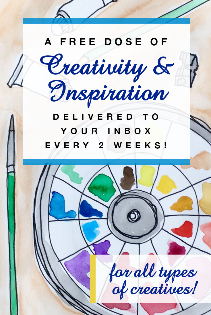 My Creative Collection is an inspiring newsletter for all types of makers! Sign up at https://mycreativeresolution.com/newsletter/