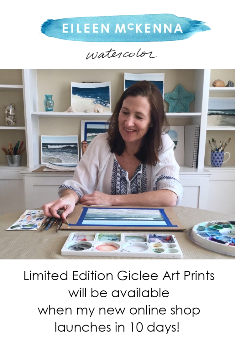 Limited Edition Giclee Art Prints will be available when my new online shop launches in 10 days!
