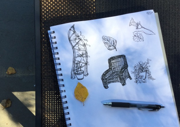 Daily sketchbook work | creative habits day