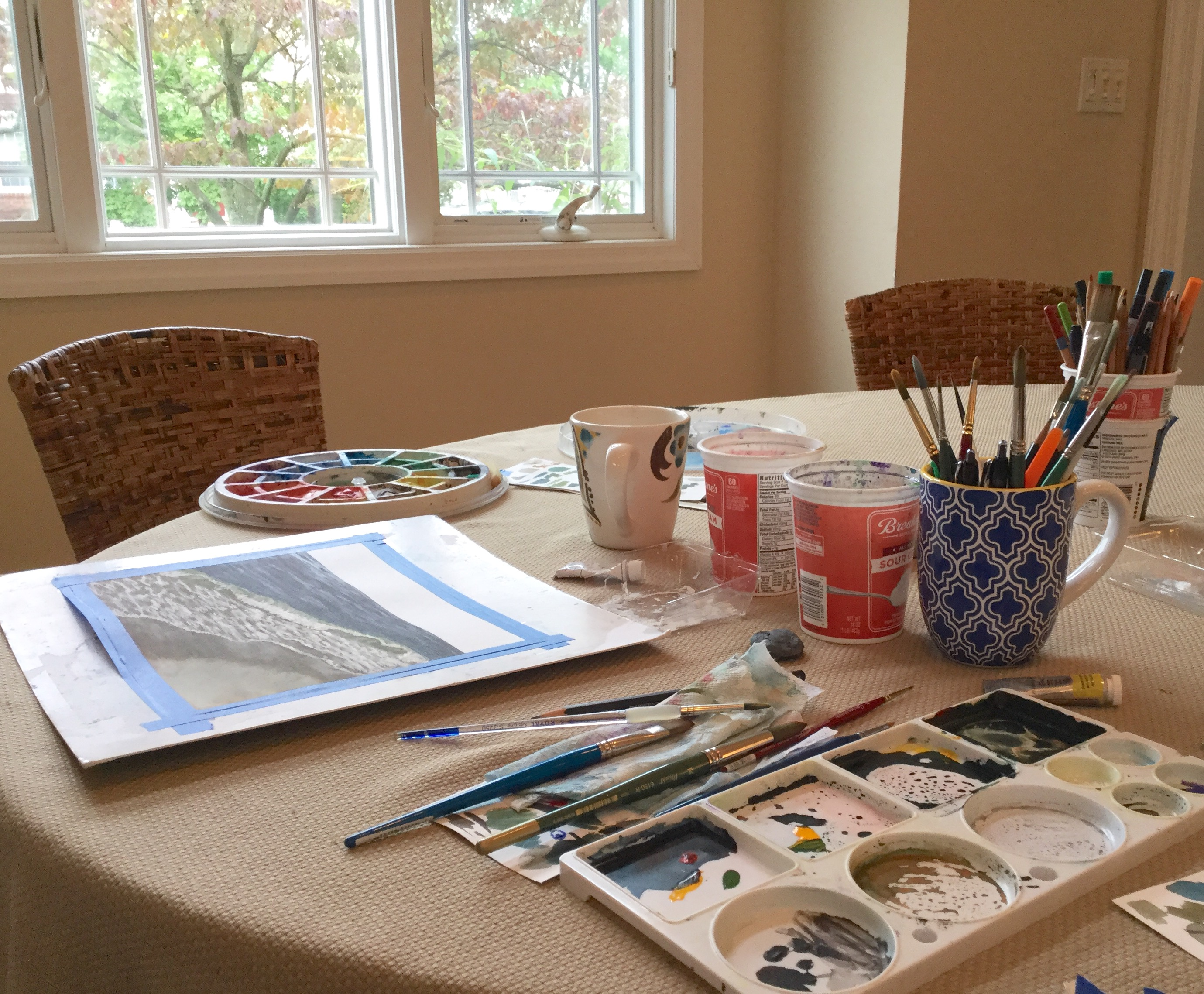 Painting every morning | Eileen McKenna watercolor artist