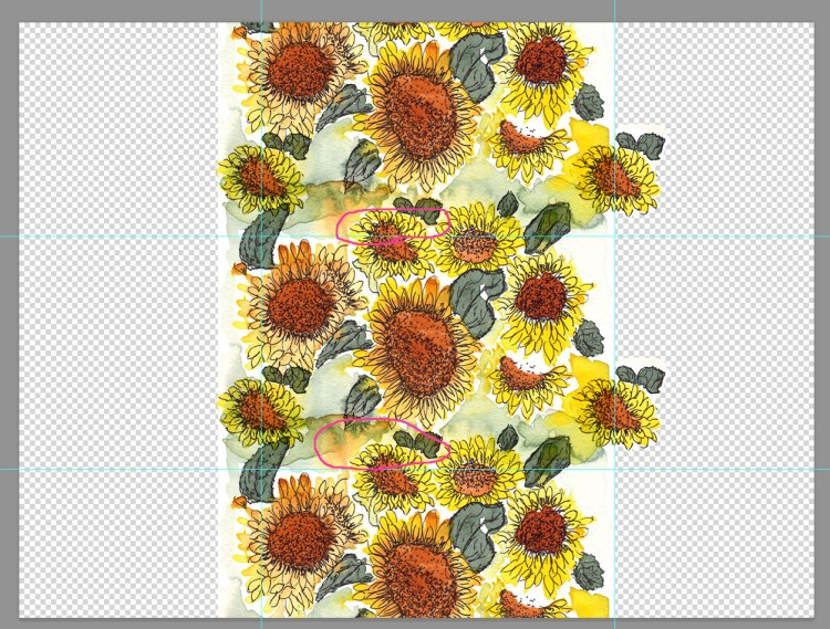 How fabric print repeats work | Eileen McKenna #surfacedesign