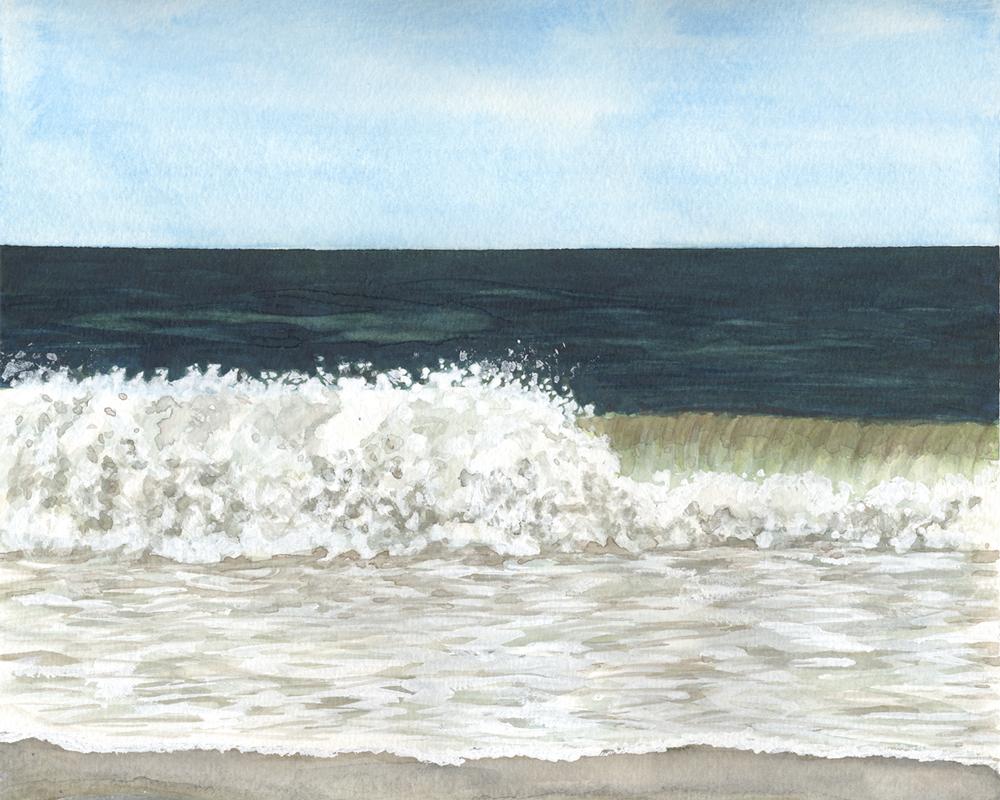 Crashing Wave by Eileen McKenna