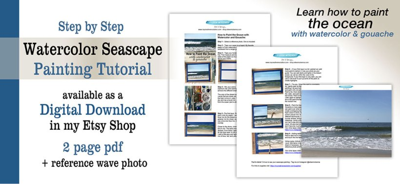 Watercolor Seascape Tutorial Download