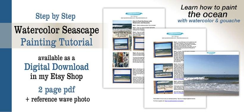 Watercolor Seascape Tutorial Download