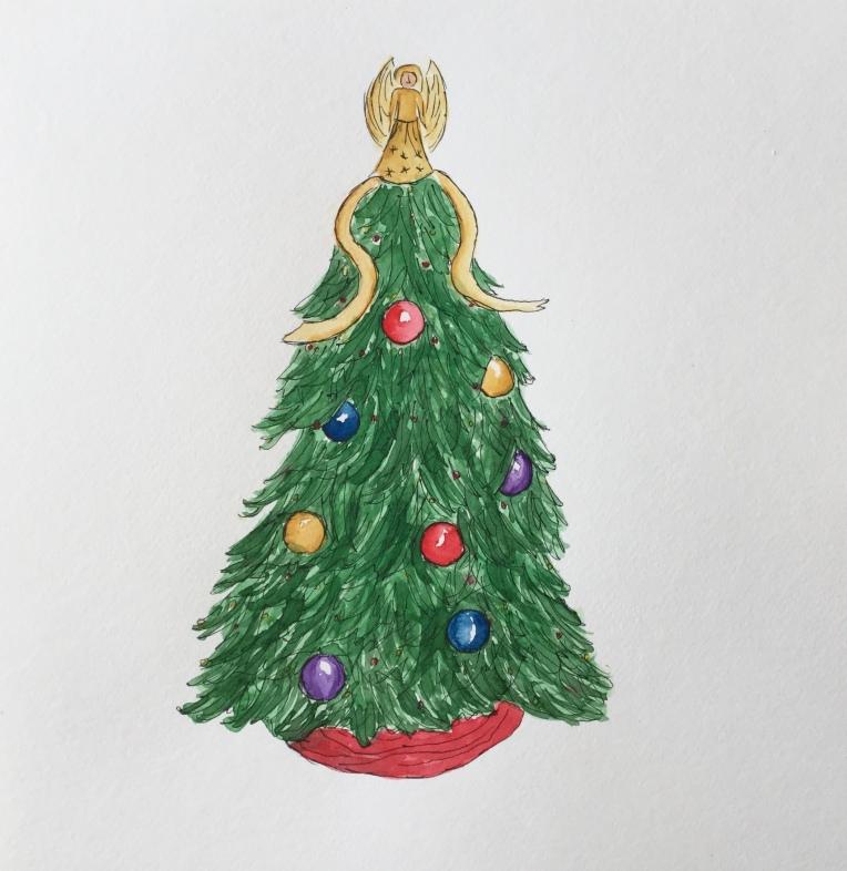 Christmas countdown #christmas #creative #tree