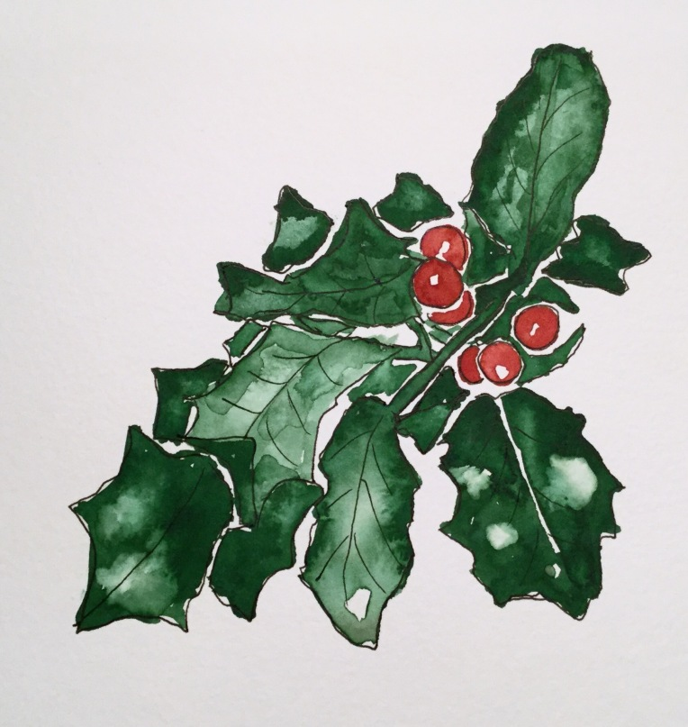 Christmas Countdown Day 11/25 - Holly