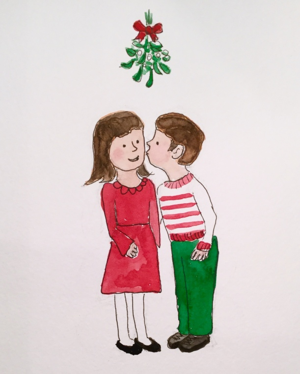 Christmas Countdown Day 12/25 - Mistletoe #mistletoe