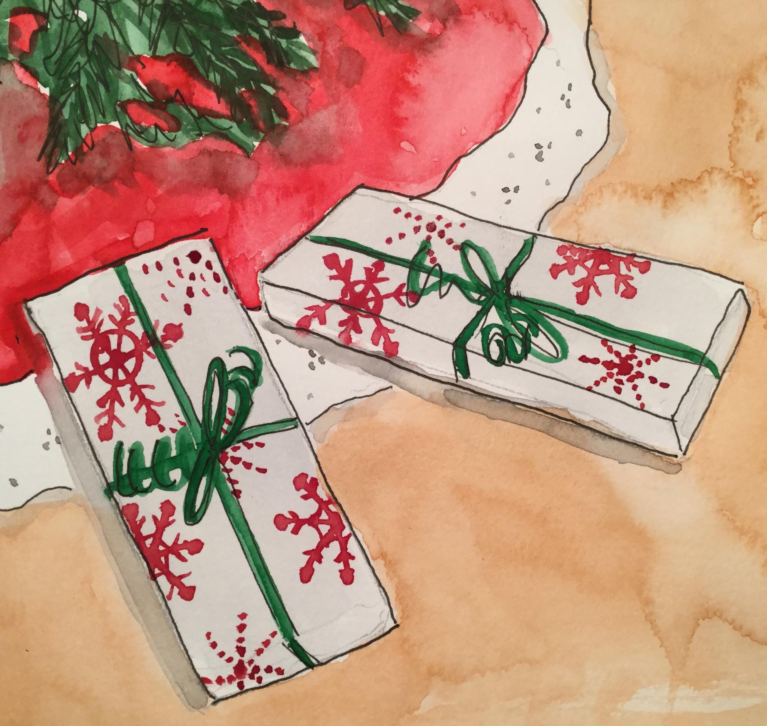 Christmas Countdown 10/25 - Gifts #christmas #creative