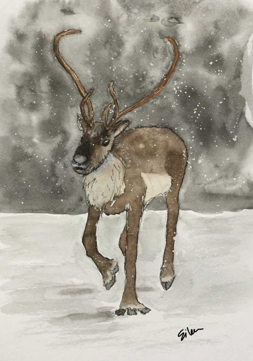 Christmas Countdown 9/25 - Reindeer #reindeer