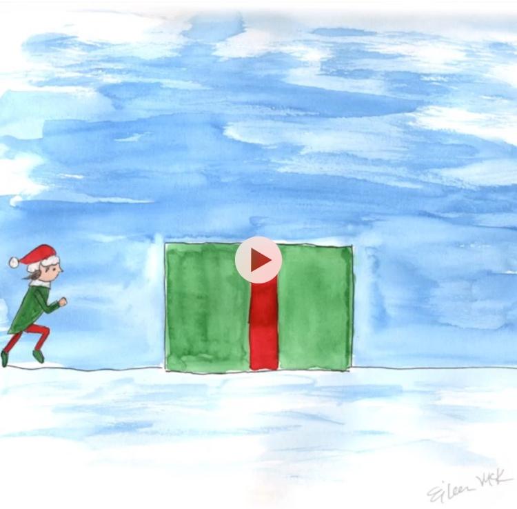 Elf flipping animation