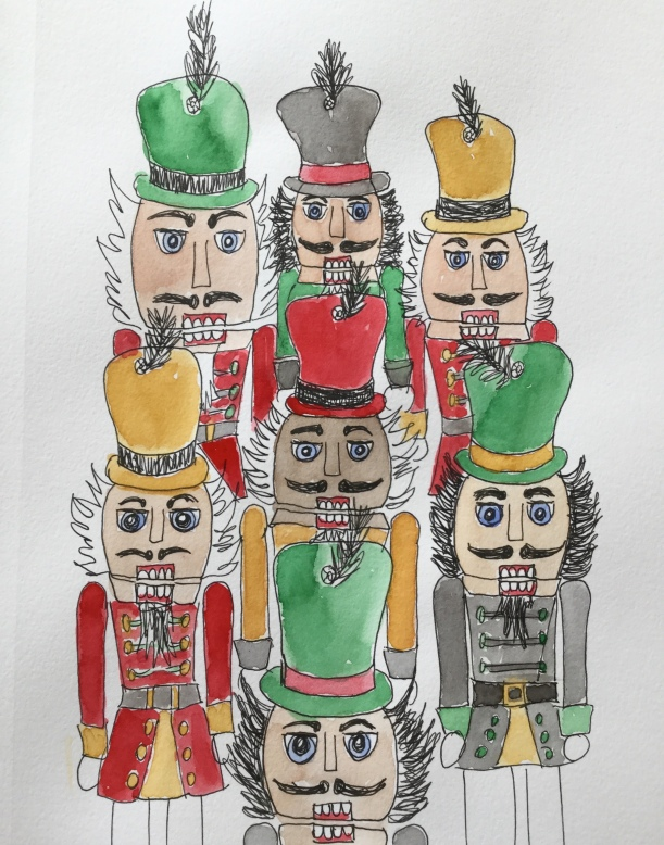 Christmas Countdown 6/25 Nutcrackers #nutcrackers