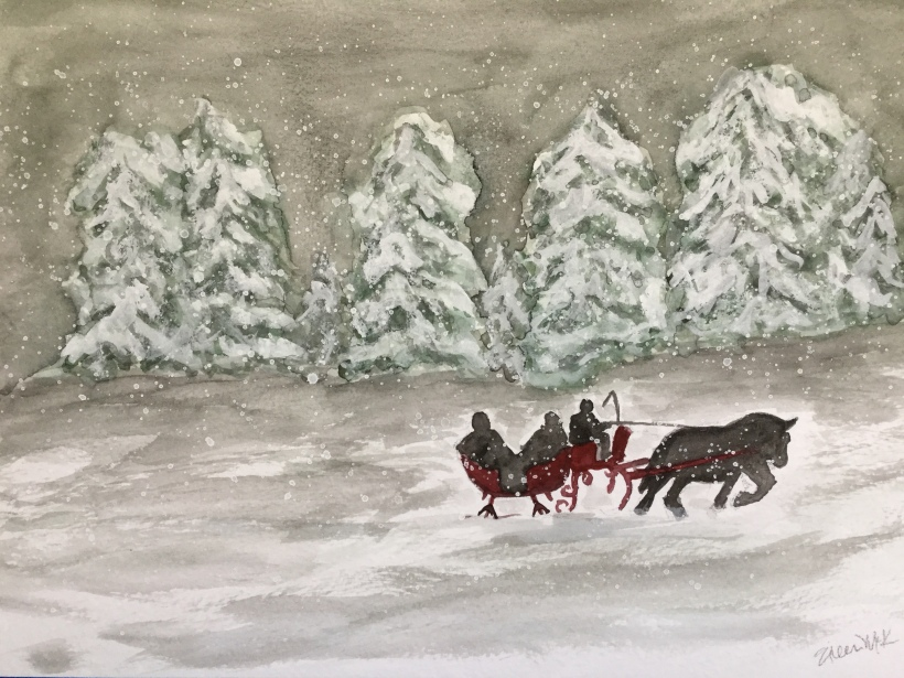 Christmas Countdown Day 13/25 - Sleigh