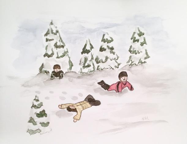 Christmas Countdown Day 14/25 - Snow