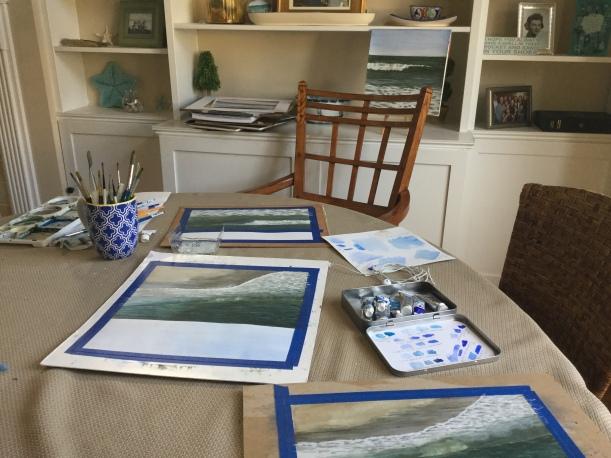 """Making Spot"" #painting"