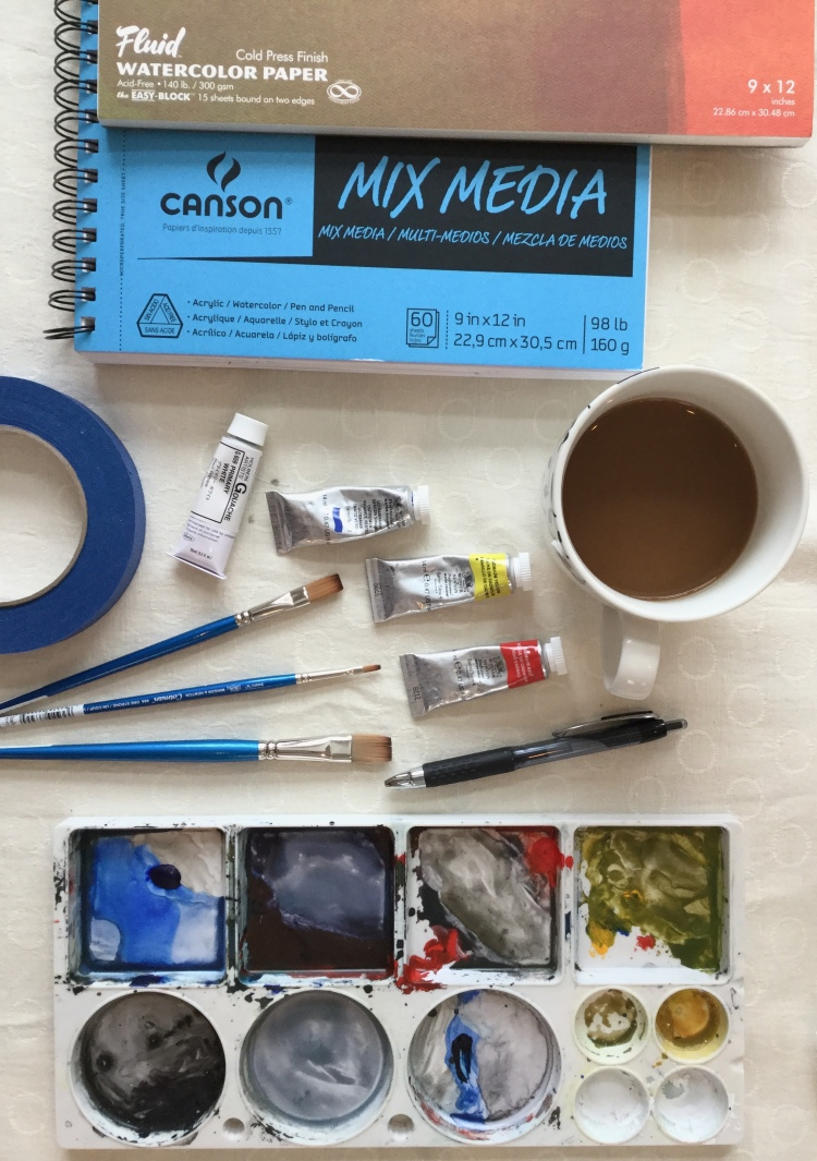 "Painting ""Must Haves"" #watercolor #supplies #beginner"