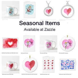 Seasonal gifts by Eileen McKenna on Zazzle.com