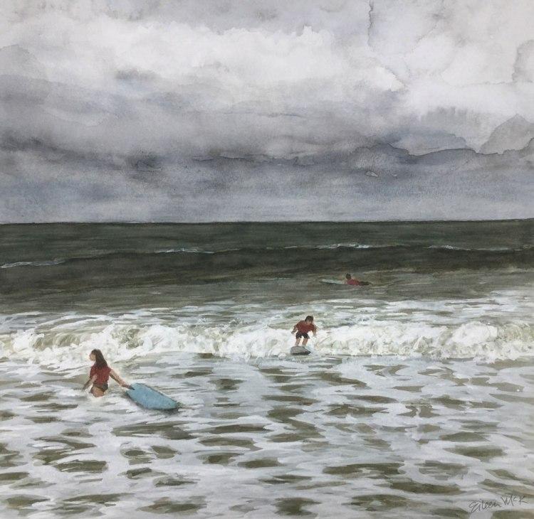 Surf Camp 2 by Eileen McKenna https://shop.eileenmckenna.com/
