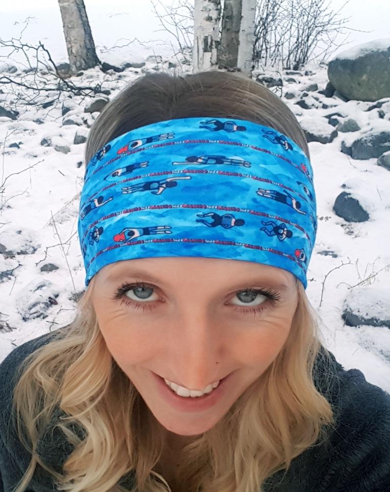 Swimming Laps headband https://headbandhappyak.com/collections/sports-leasure-mascot/products/swimmer