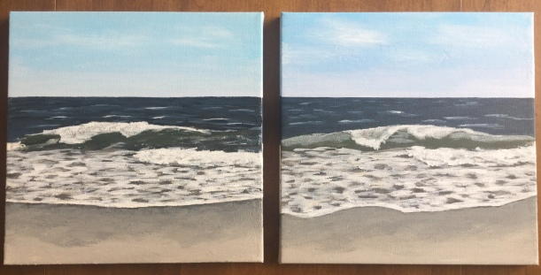 Transitioning from watercolor to acrylic