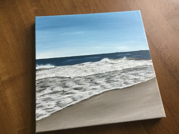 Knowing your subject when painting | painting the ocean