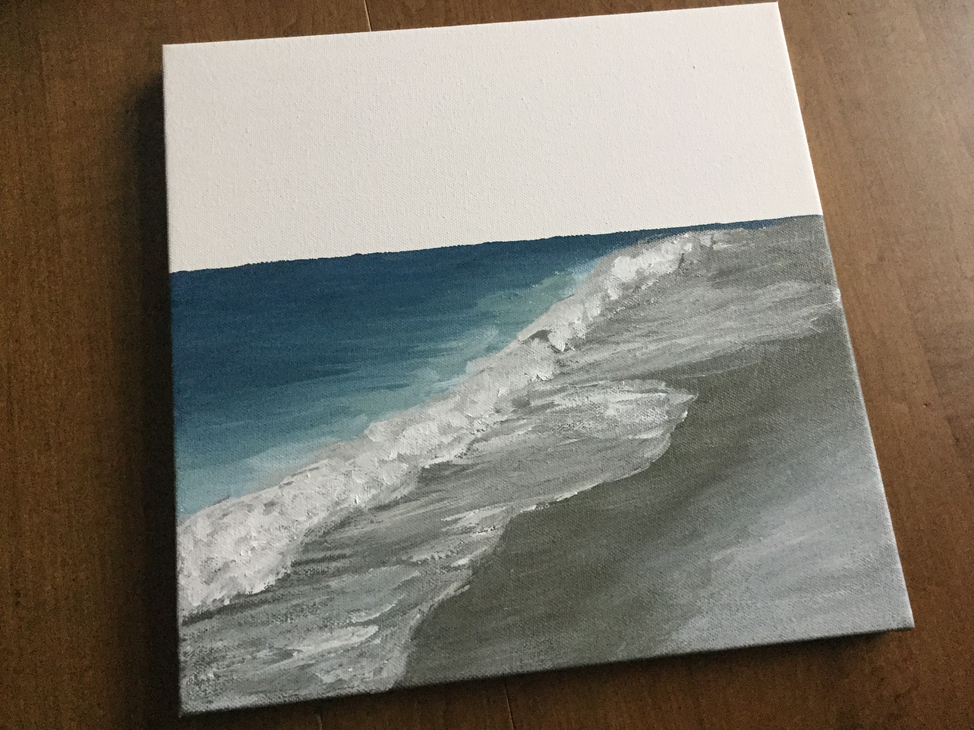 Know your subject - painting the ocean