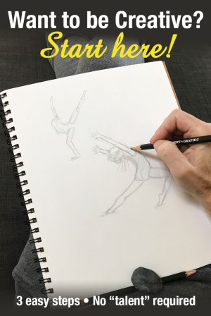 Want to be creative? Start here! creative inspiration | how to be creative