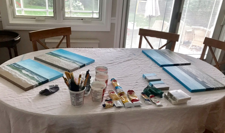 Acrylic Painting Routines