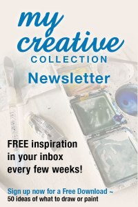 My Creative Collection is a creatively inspiring newsletter for all types of makers! creative newsletter inspiration free download Sign up at https://mycreativeresolution.com/newsletter/