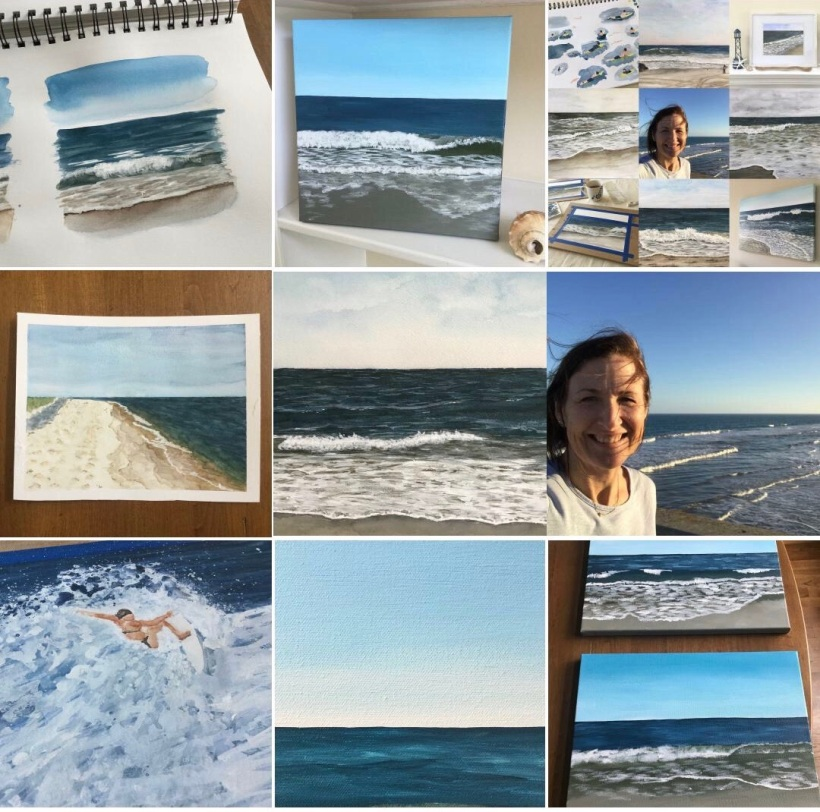 Seascape paintings by Eileen McKenna my top 9 2018 #topnine
