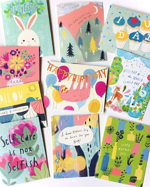 Interview with Yuko Miki of Honeyberry Studios on becoming a Full Time Artist | Spring Cards