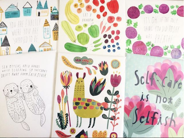 Interview with Yuko Miki of Honeyberry Studios on becoming a Full Time Artist | Cards